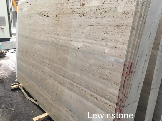 Italy Silver Grey Travertine marble